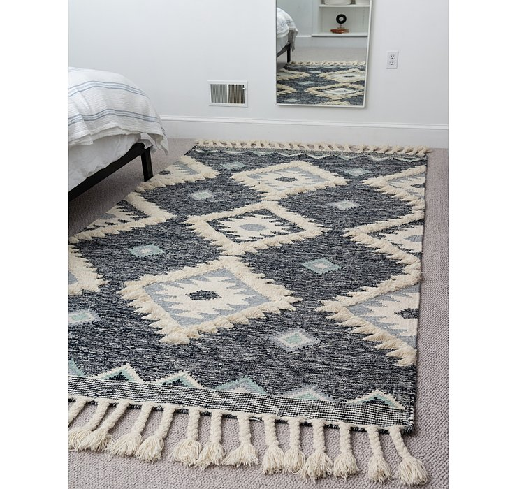 Dark Blue Arizona Rug