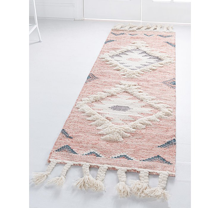 Pink Arizona Runner Rug
