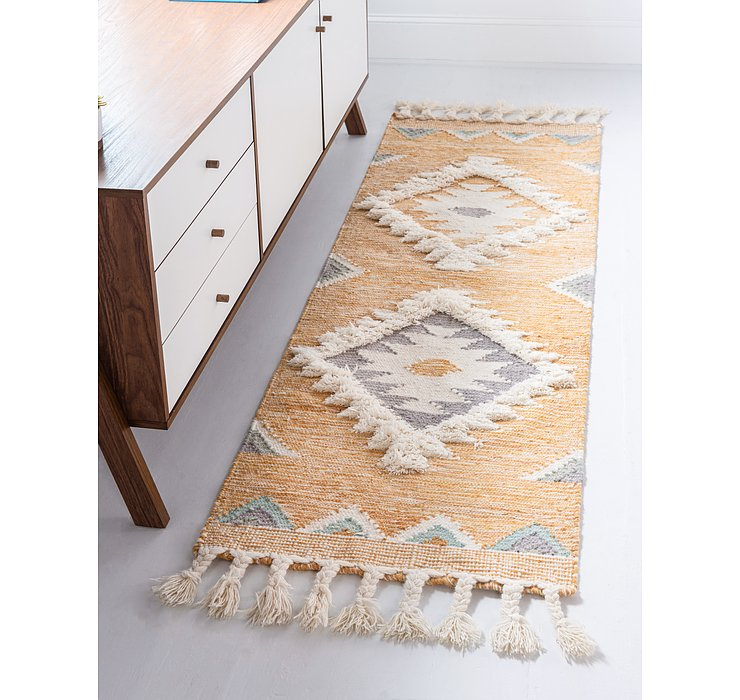 Gold Arizona Runner Rug