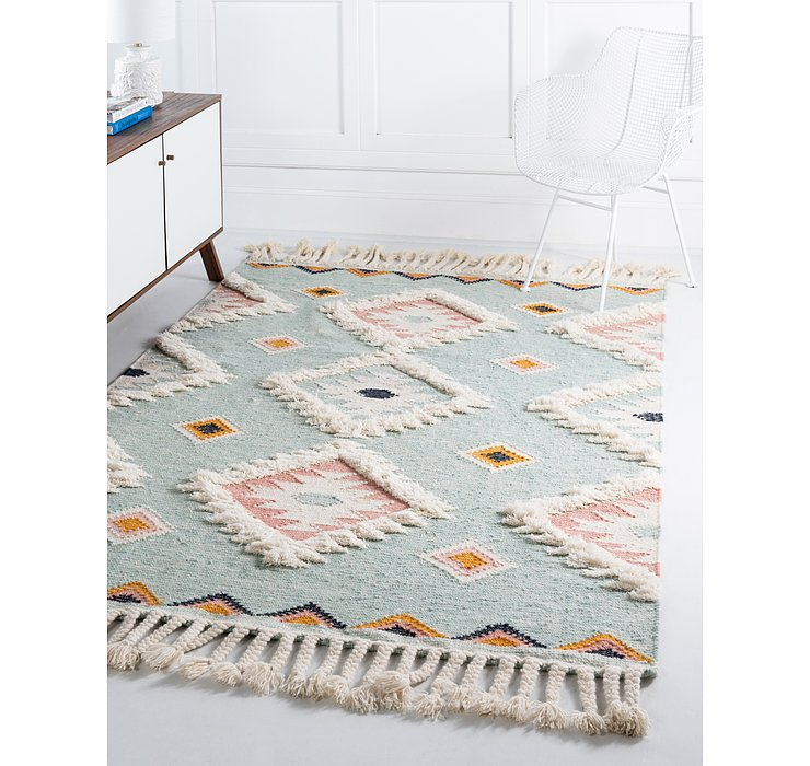 Light Aqua Arizona Rug