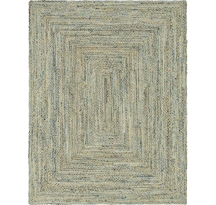 10' x 13' Braided Chindi Rug