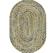 Link to 60cm x 90cm Braided Chindi Oval Rug