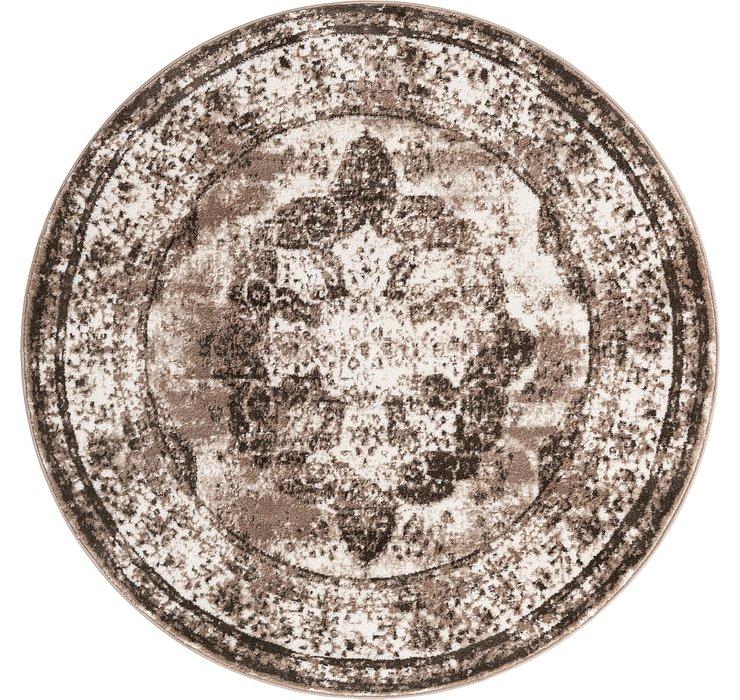 5' x 5' Monte Carlo Round Rug