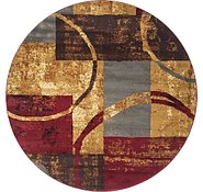 Link to 183cm x 183cm Coffee Shop Round Rug