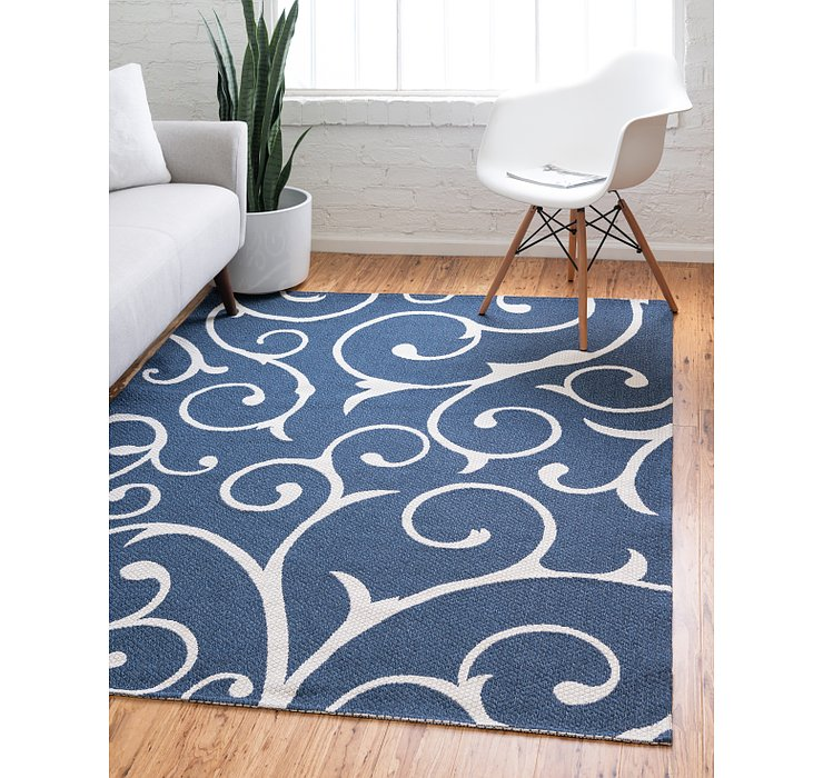 Navy Blue Georgia Rug
