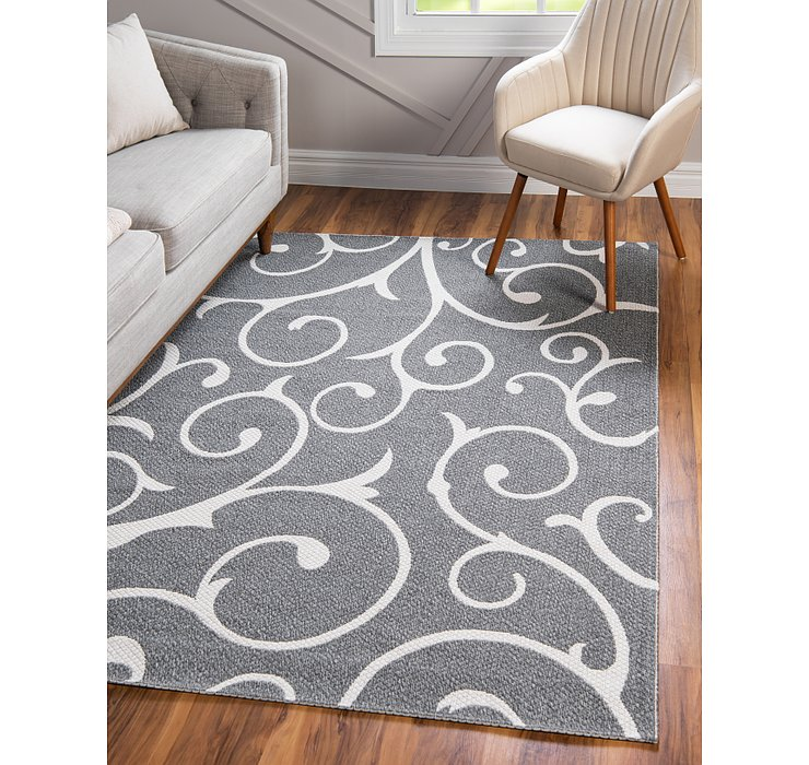 Dark Gray Georgia Rug