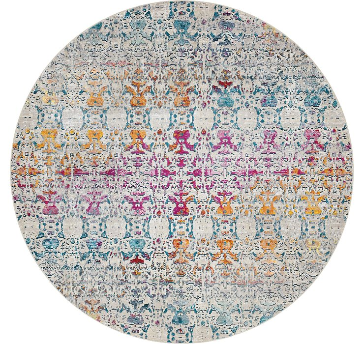 7' x 7' Amulet Round Rug