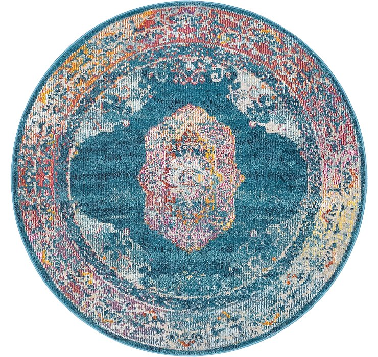 122cm x 122cm Amulet Round Rug