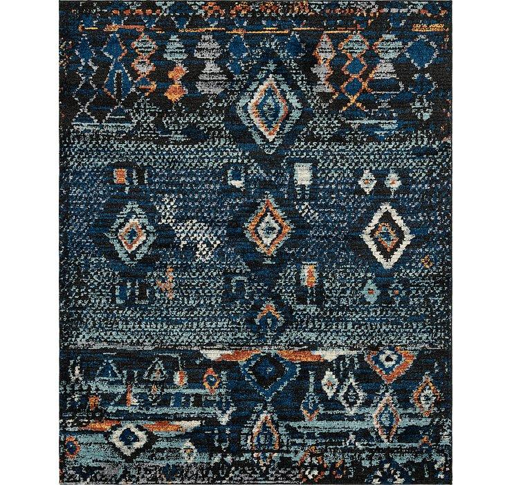 Navy Blue Morocco Rug