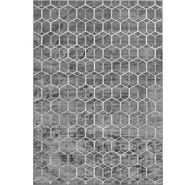 9' 10 x 14' Lattice Trellis Rug