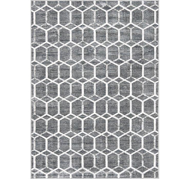 7' x 10' Lattice Trellis Rug