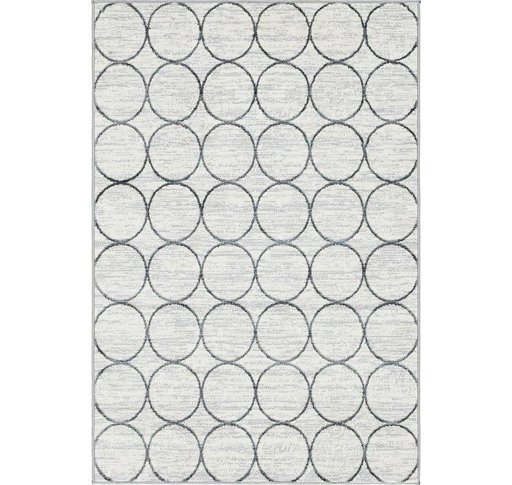 4' x 6' Lattice Trellis Rug