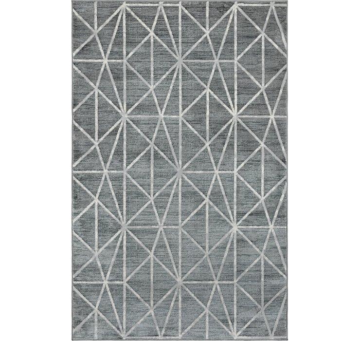 5' x 8' Lattice Trellis Rug