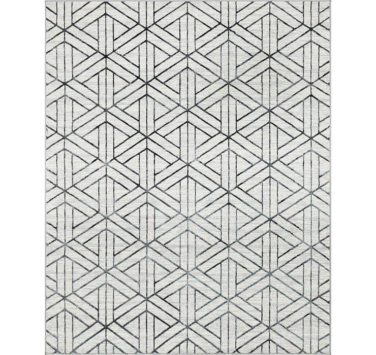 8' x 10' Lattice Trellis Rug