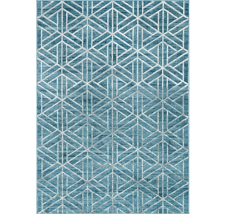 7' x 10' Lattice Trellis Rug