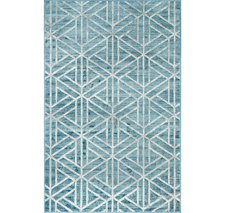 5' x 8' Lattice Trellis Rug